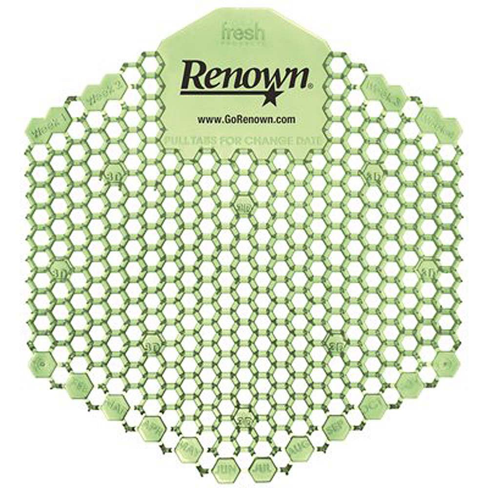 Renown Wave 3D Urinal Screen (10 Per Box)