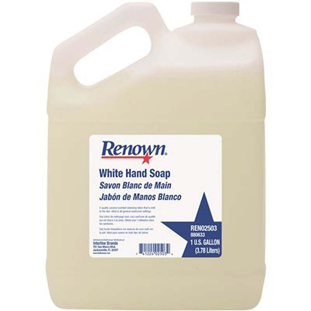 Renown Hand Soap, White, 1 Gal