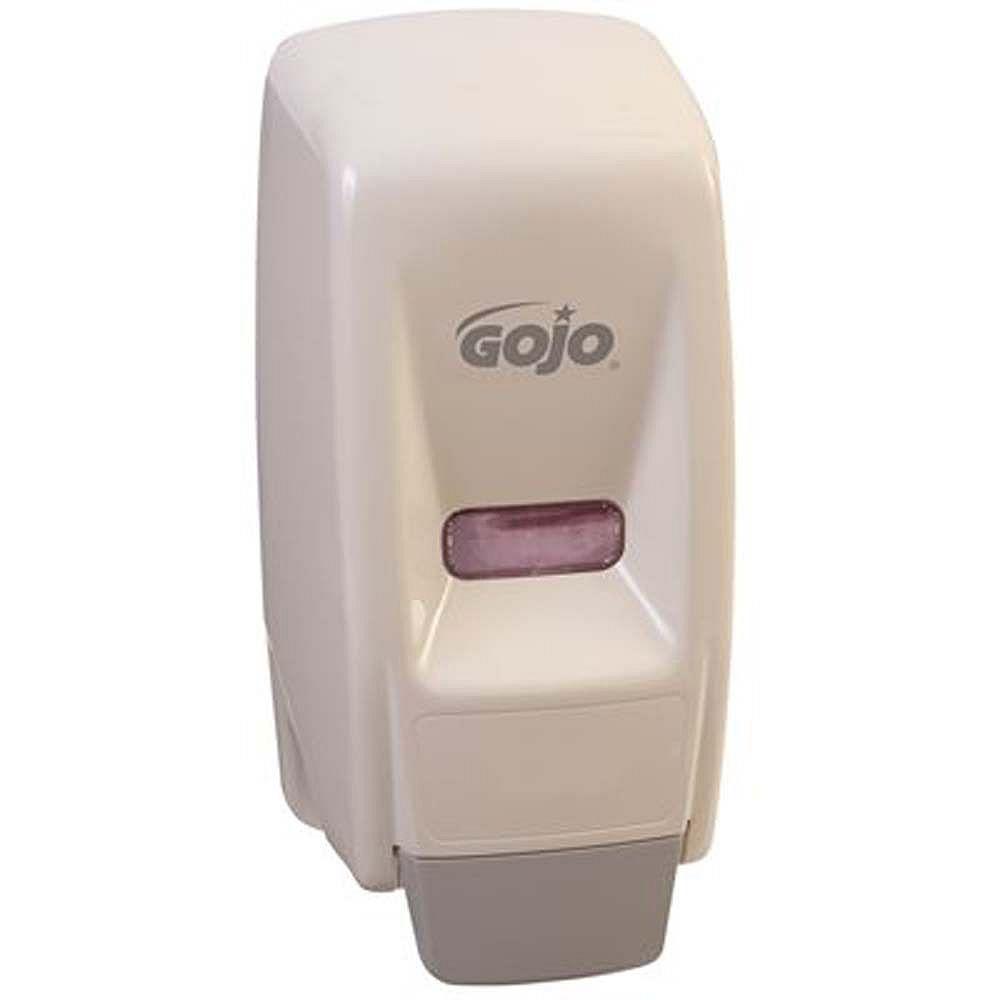 GOJO Industries 800ml White Bag-In-Box Liquid Soap Dispenser