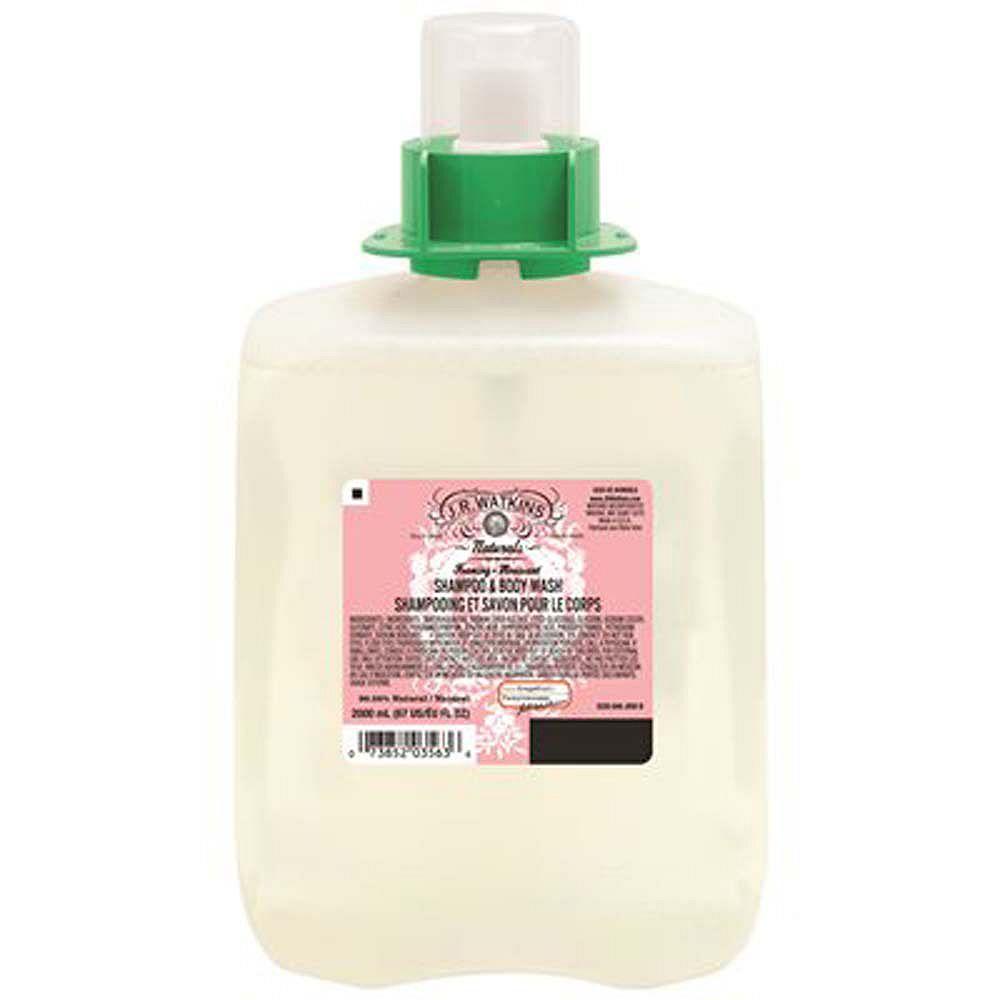 GOJO J.R. Watkins Foaming Shampoo And Body Wash, 2000ml