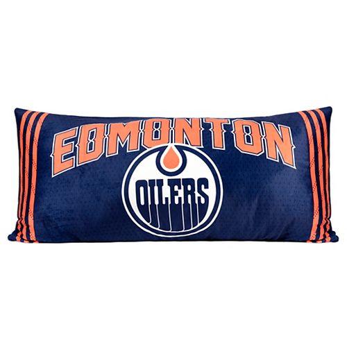 Oreiller de corps de Oilers de Edmonton