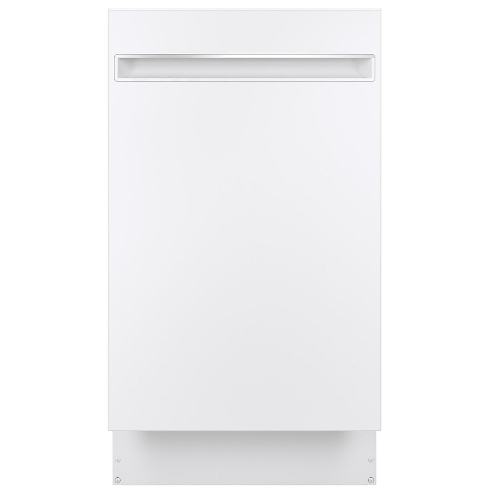 """GE Profile 18"""" Top Control Built-In Tall Tub Dishwasher with 3rd Rack and Steam Cleaning in Stainless Steel"""