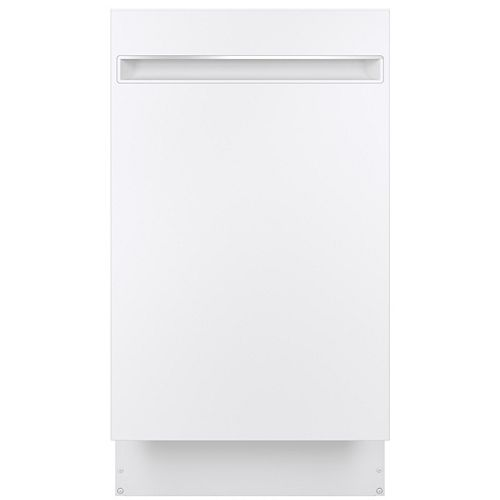 """18"""" Top Control Built-In Tall Tub Dishwasher with 3rd Rack and Steam Cleaning in Stainless Steel"""