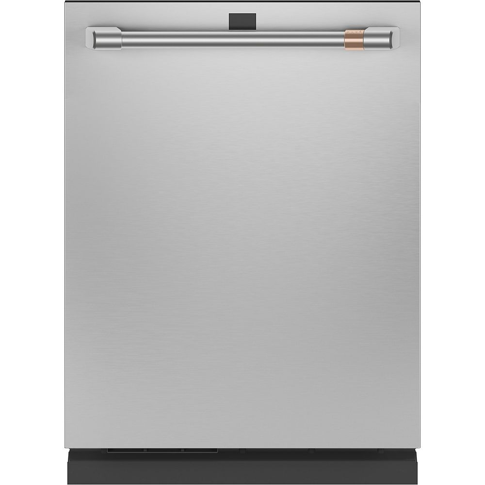 Café 24-inch Built-In Dishwasher with Stainless Steel Interior in Stainless Steel