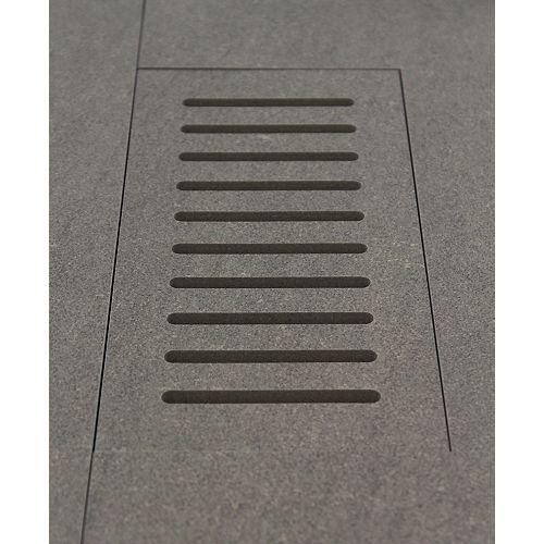 Made2Match Enigma Concept Mica 5-inch x 11-inch Flush Mount Porcelain Tile Vent