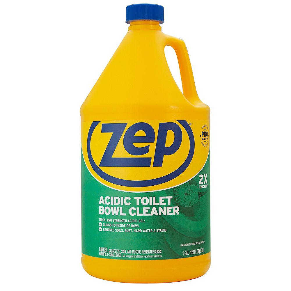 Zep Nettoyant pour cuvette de toilette acide Zep