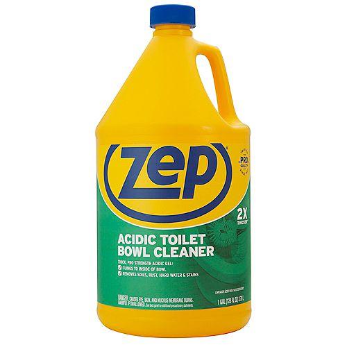 Zep Winter Green Scent Gel-Based Acidic Toilet Bowl Cleaner