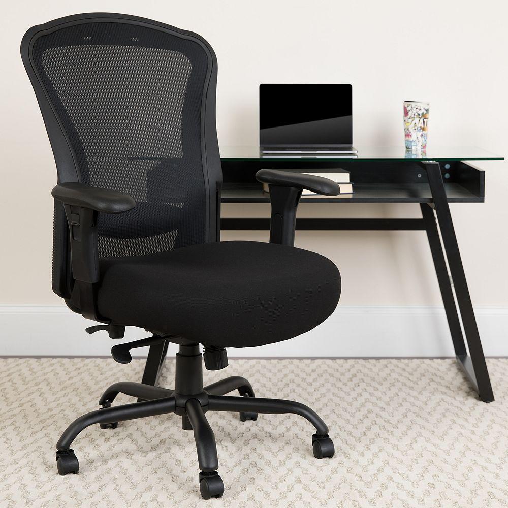Flash Furniture Black 24/7 Use High Back-400LB