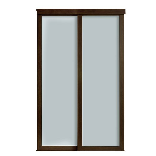 """72""""Sliding Frosted 1 Lite ClosetDoor"""