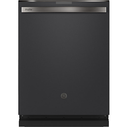 24-inch Top Control Built-In Dishwasher with Stainless Steel Tall Tub in Black