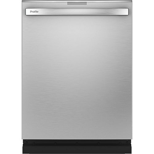 24-inch Top Control Built-In Finrprint Resistant Dishwasher with 3rd Rack and 45 dBA in Stainless Steel