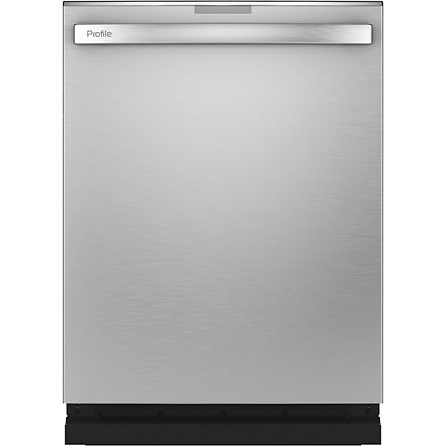 24-inch Built-In Smart Tall Tub Dishwasher with 3rd Rack and Ultra Quiet 39 Dba in Stainless Steel