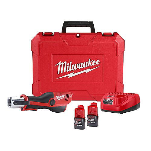 M12 12V Lithium-Ion Force Logic Cordless Press Tool (Tool Only- No Jaws)