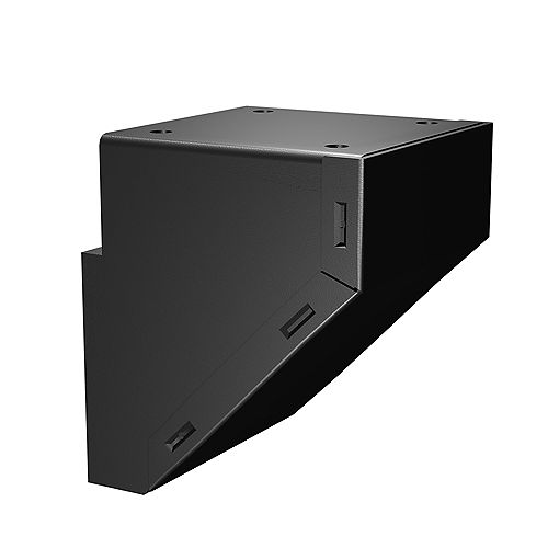 Matte Black Mid/End/Stair Fascia Mount Bracket