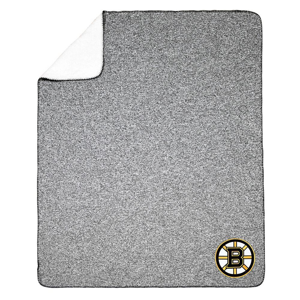 NHL NHL Boston Bruins Team Crest Sweater Knit Throw