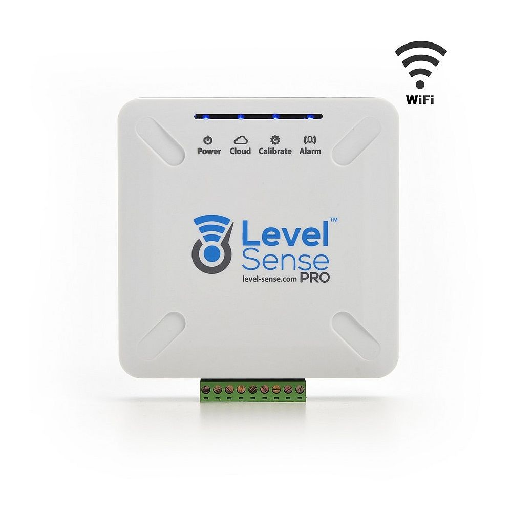 Sump Alarm Level Sense PRO-Wi-Fi Enabled Sump Pump Monitor, See Water Level Online, Interal UPS, More