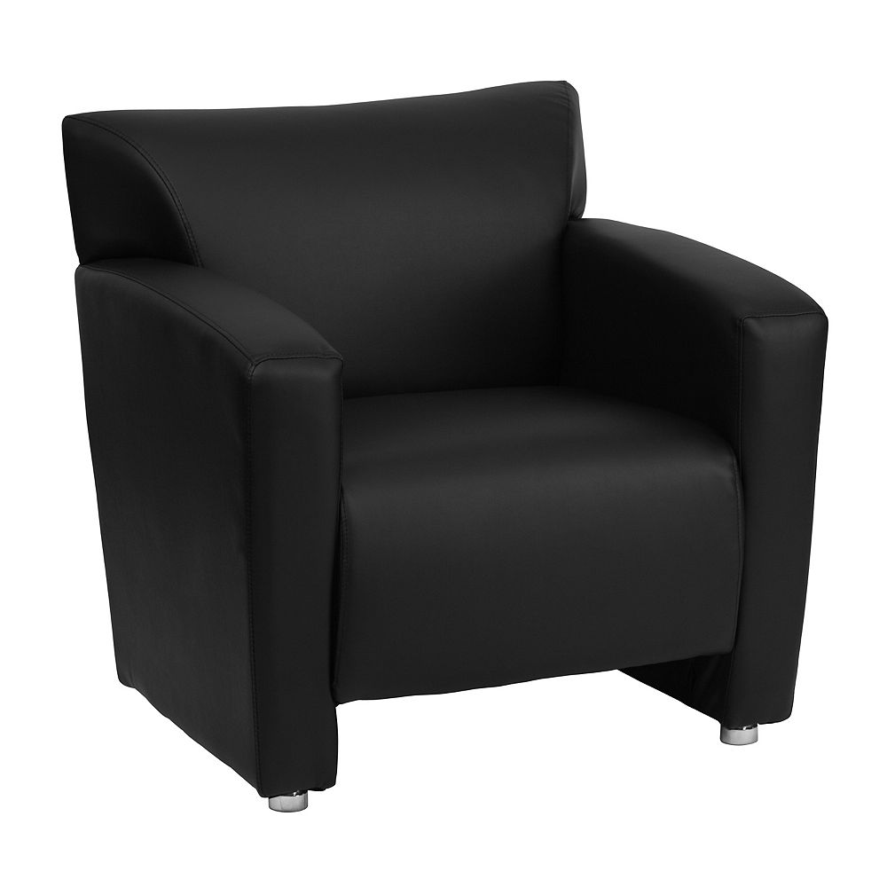 Flash Furniture HERCULES Majesty Series Black Leather Chair
