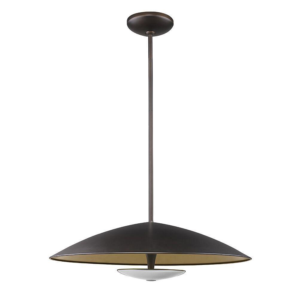 Acclaim Aurora LED Pendant rubbed bronze