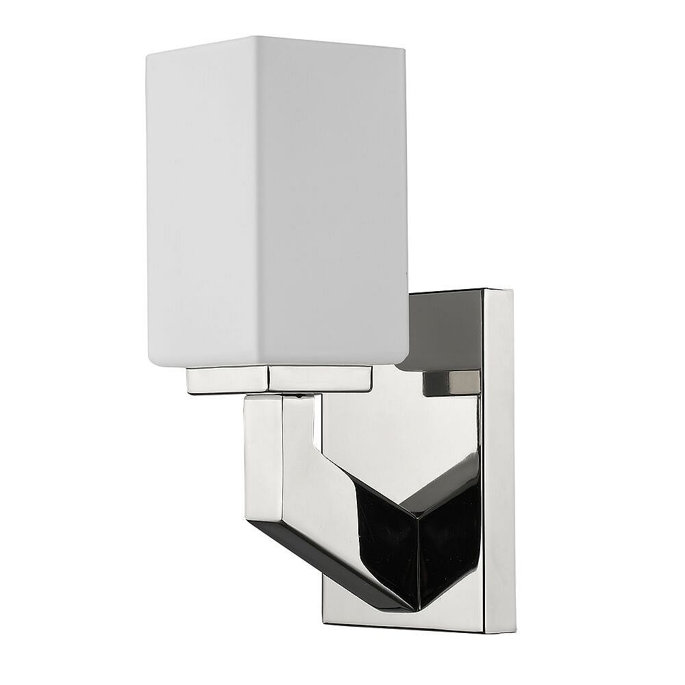 Acclaim Magnolia 1-Light sconce with Glass Shade