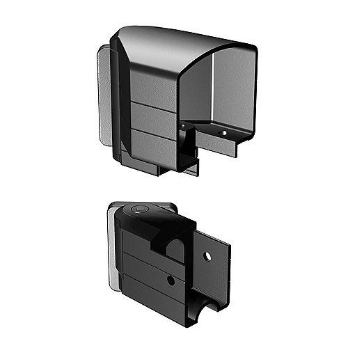 Peak Railblazers Matte Black Horizontal Angle Bracket Kit