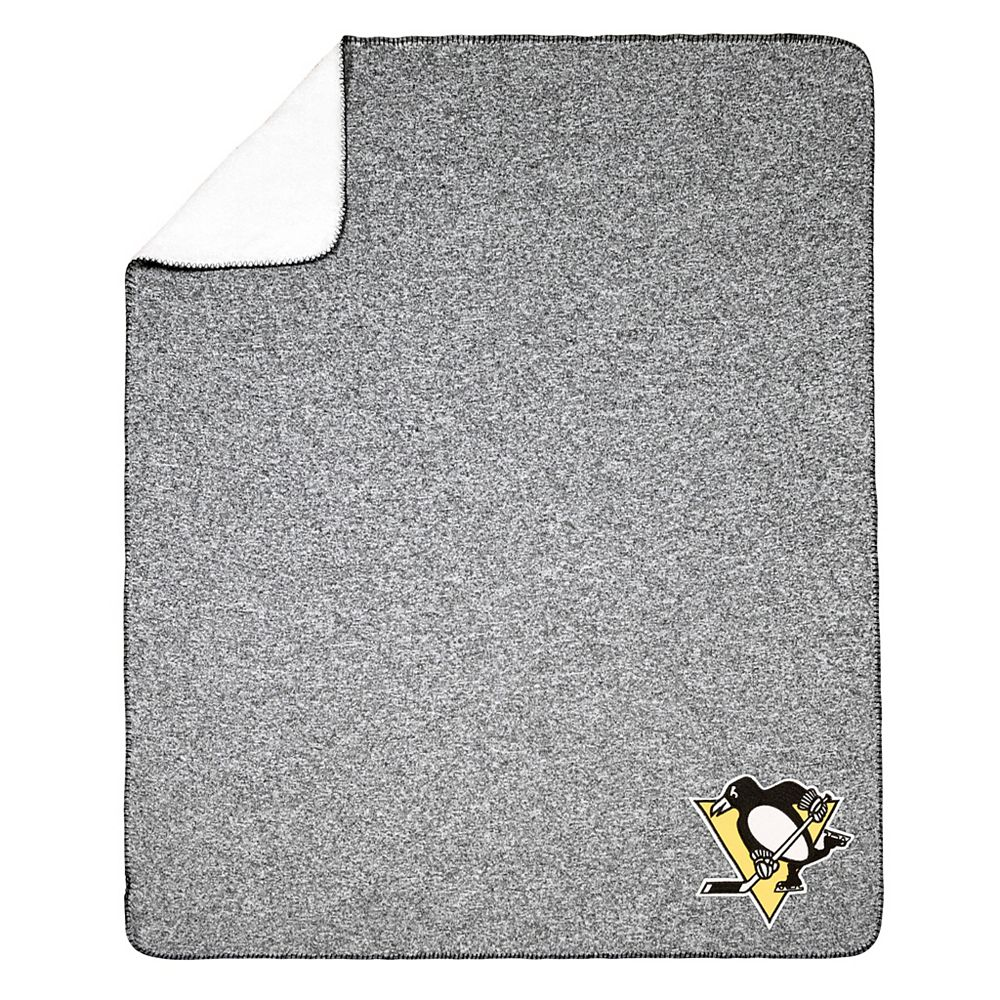 NHL NHL Pittsburgh Penguins Team Crest Sweater Knit Throw