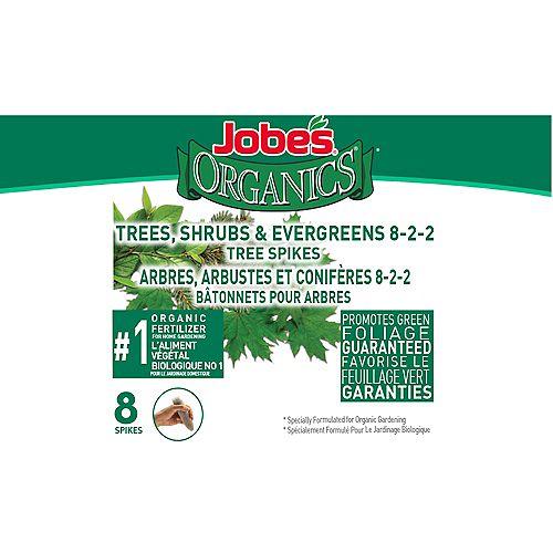 Arbes, Arbustes et Coniferes Batonnets Pour Arbres