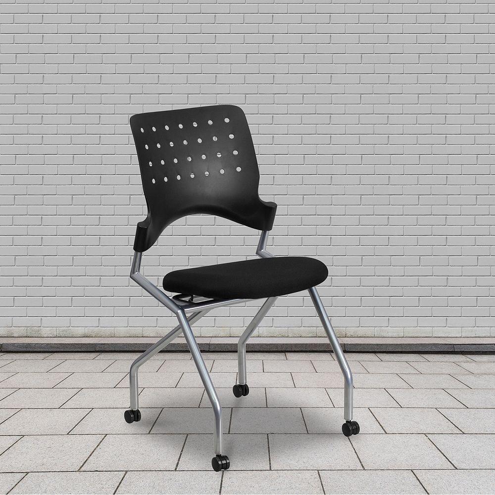 Flash Furniture Black Fabric Nesting Chair