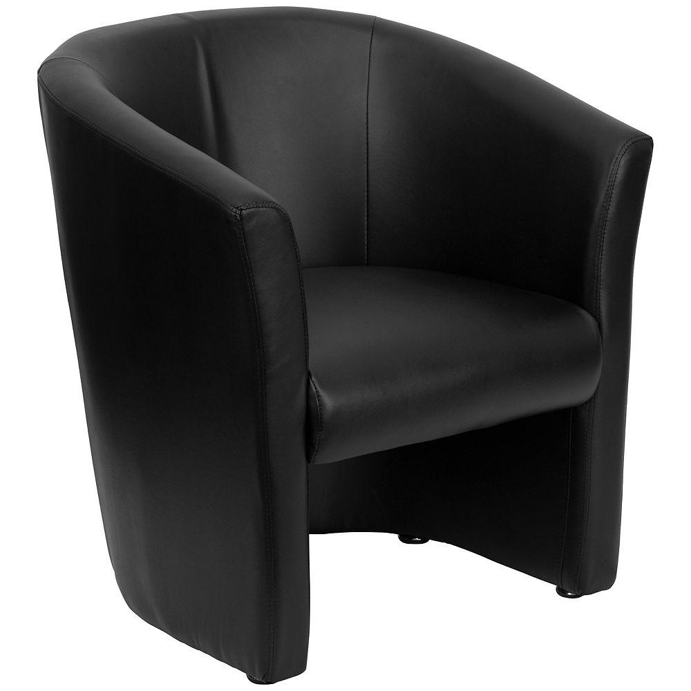 Flash Furniture Black Leather Chair