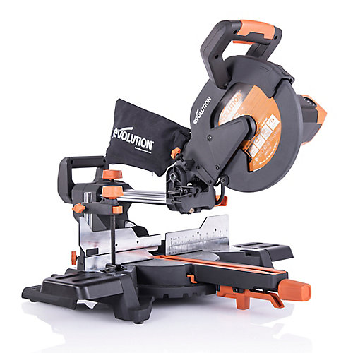 15 Amp 10 in. Sliding Compound Miter Saw w/Multi-Material 28-T Blade