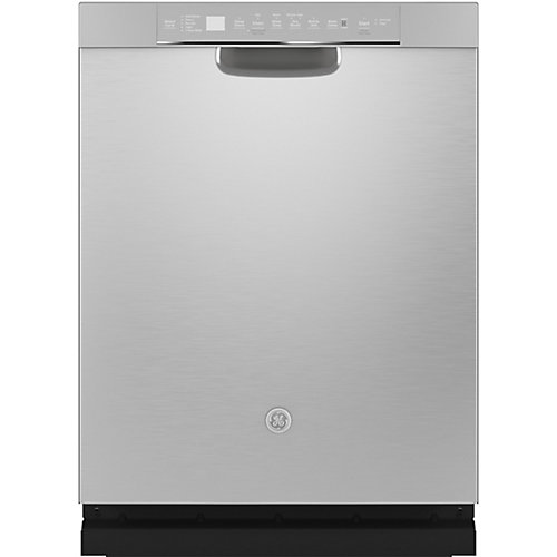 24-inch Front Control Built-In Dishwasher with Stainless Steel Tall Tub in Stainless Steel