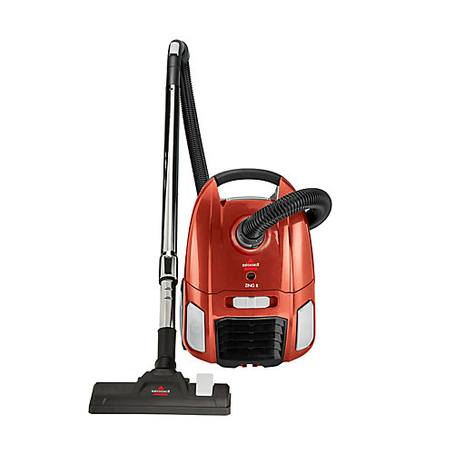 Zing II® Bagged Canister Vacuum