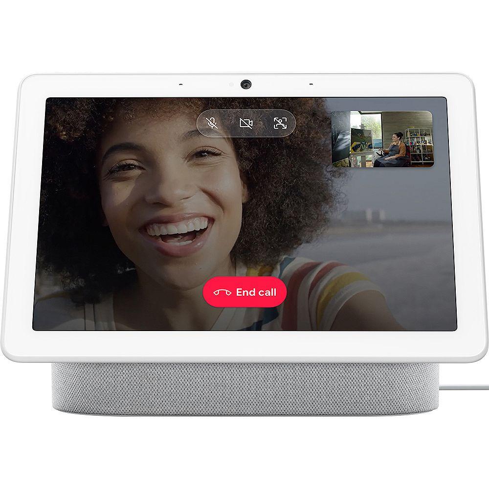 Google Nest Hub Max Smart Display in Chalk