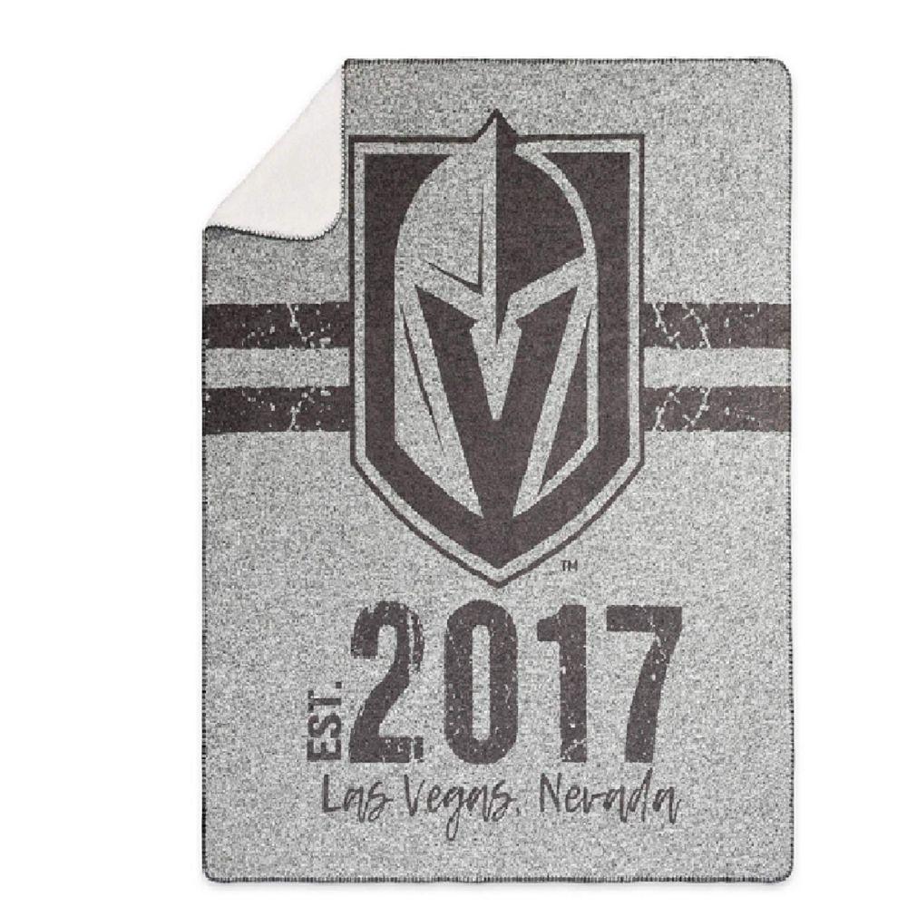 NHL Vegas Golden Knights Sweaterknit Throw