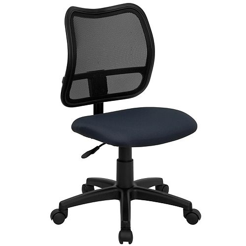 Navy Mid-Back Task Chair
