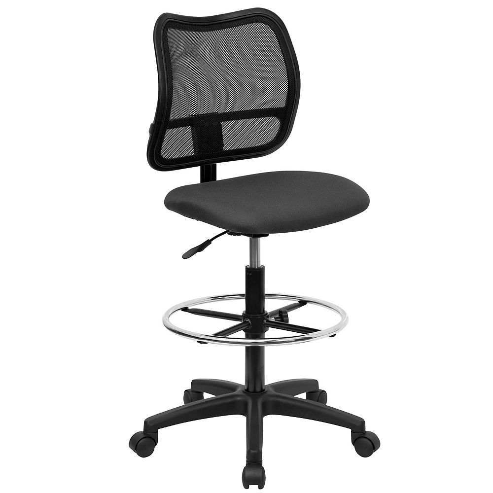 Flash Furniture Gray Mesh Draft Chair