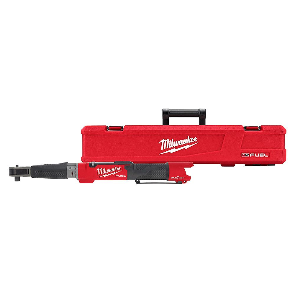 Milwaukee Tool M12 FUEL 12V ONE-KEY Lithium-Ion Brushless Cordless 1/2-inch Digital Torque Wrench (Tool Only)