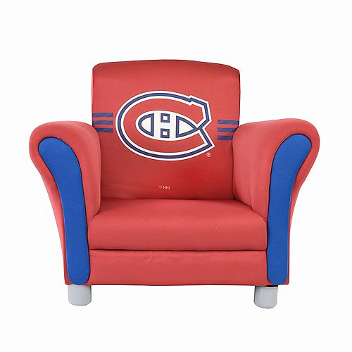 NHL Montreal Canadiens Upholstered Chair