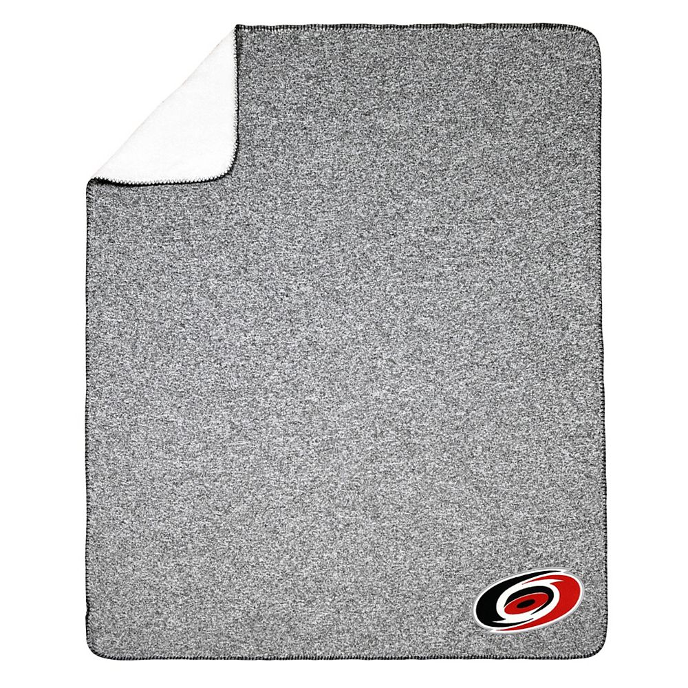 NHL NHL Carolina Hurricanes Team Crest Sweater Knit Throw