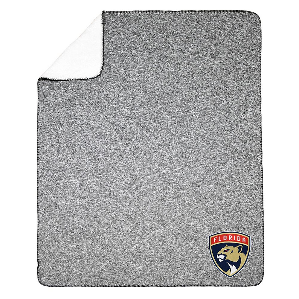 NHL NHL Florida Panthers Team Crest Sweater Knit Throw
