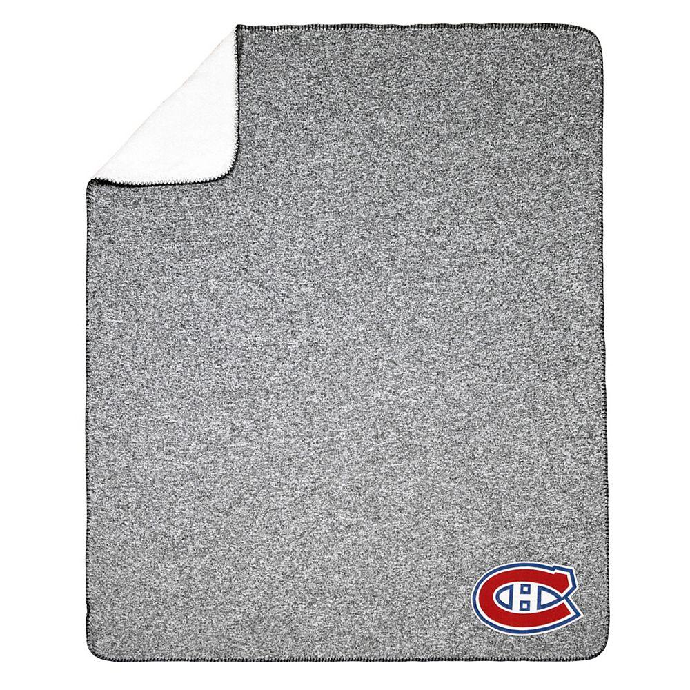 NHL NHL Montréal Canadiens Team Crest Sweater Knit Throw