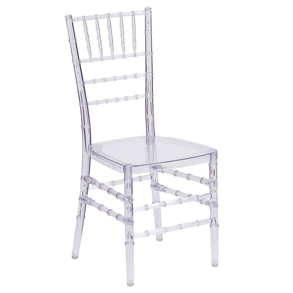 Flash Furniture Clear Chiavari Chair