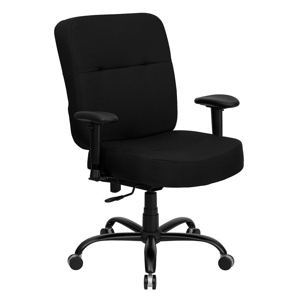 Flash Furniture Black 400LB High Back Chair