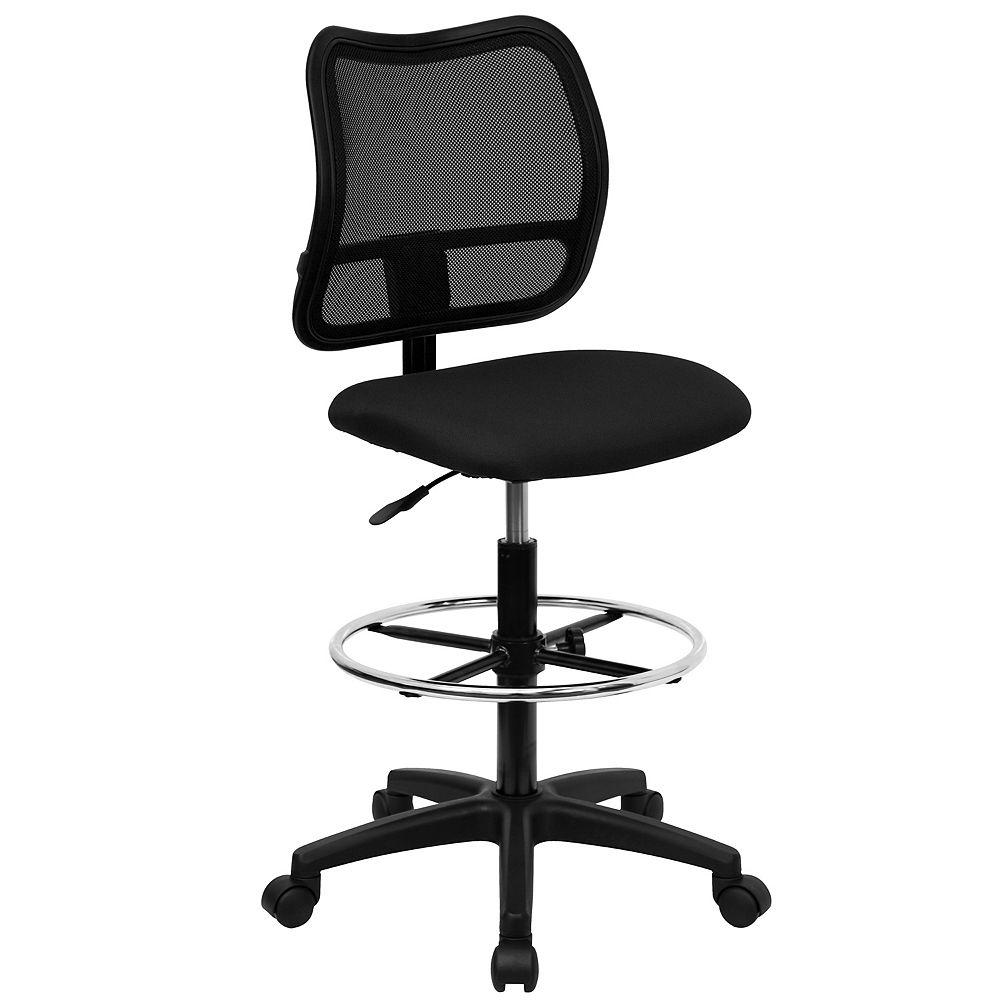 Flash Furniture Black Mesh Draft Chair