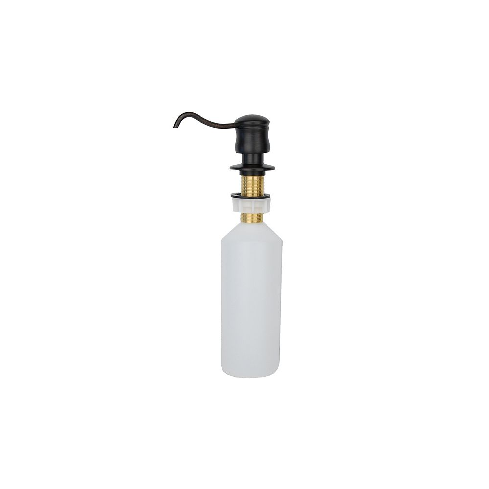 Premier Copper Products Solid Brass Soap and Lotion Dispenser in Oil Rubbed Bronze