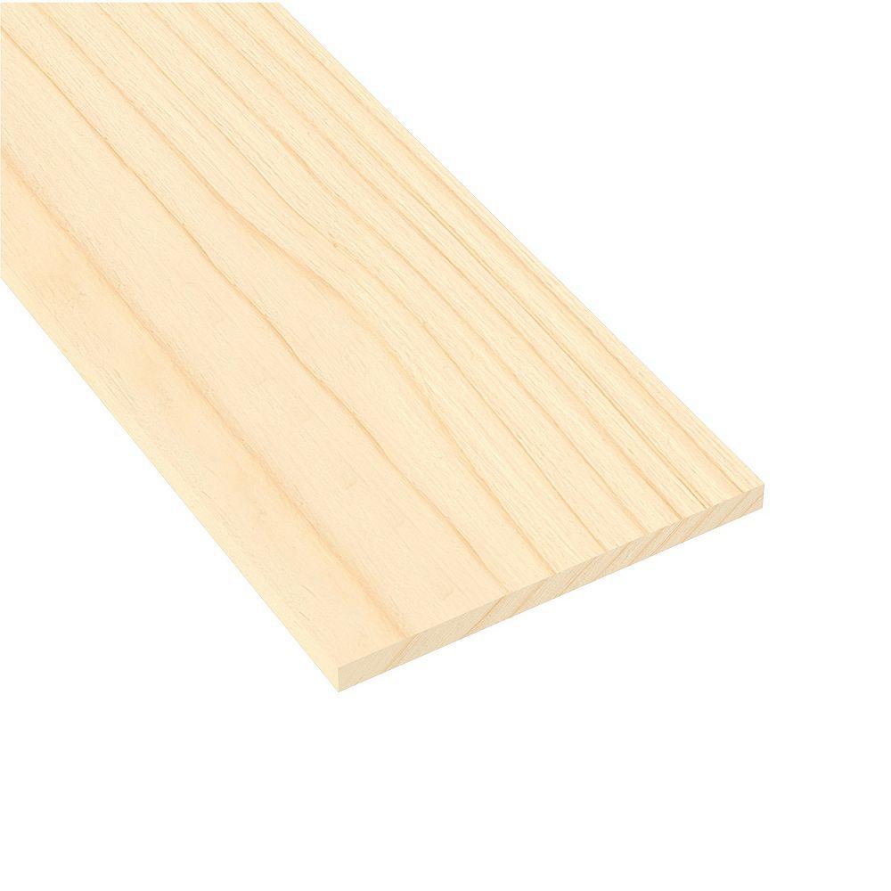 Metrie 1x12x6 Select Clear Pine Board