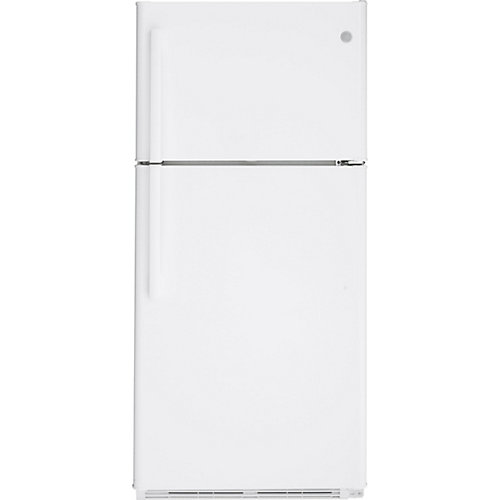 18 Cu. Ft. Top-Mount No Frost Refrigerator in White
