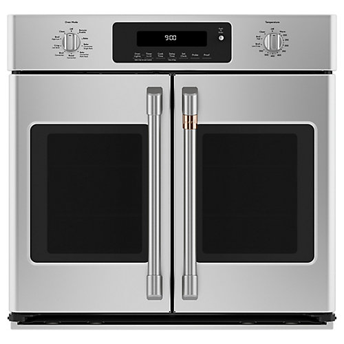 30-inch French-Door Convection Wall Oven in Stainless Steel