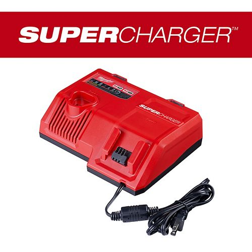 Milwaukee Tool M12 and M18 12V/18V Lithium-Ion Super Charger