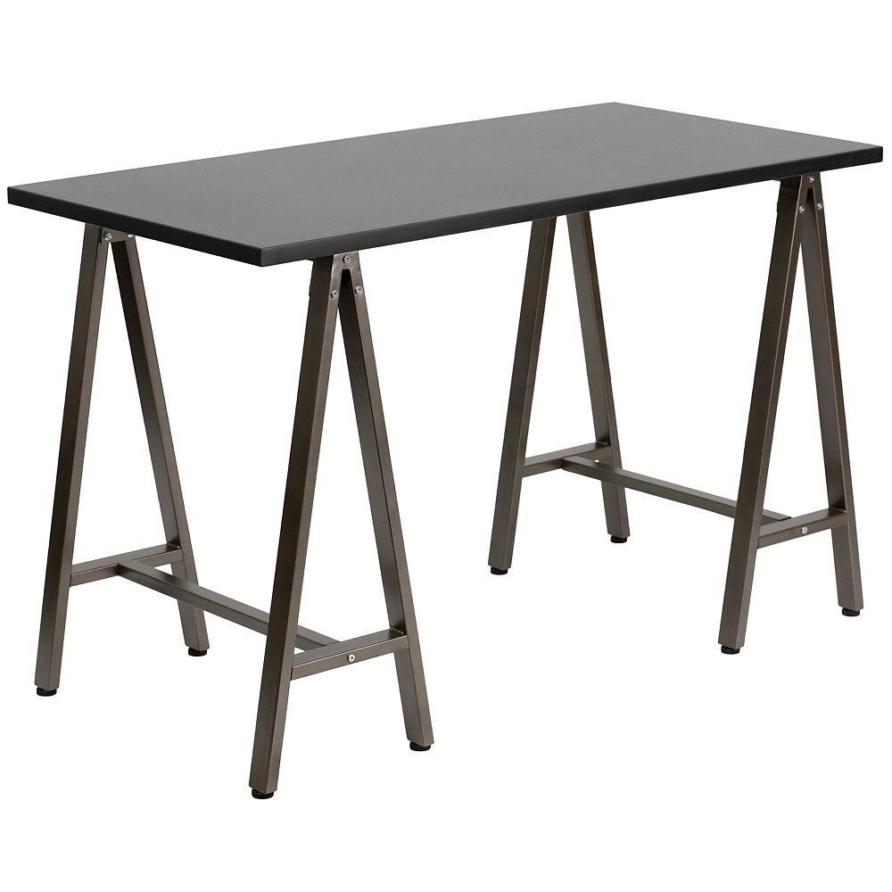 Flash Furniture Black Computer Desk