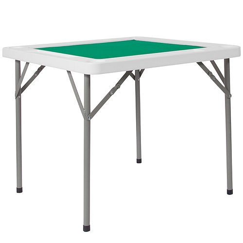 Green Felt Folding Game Table